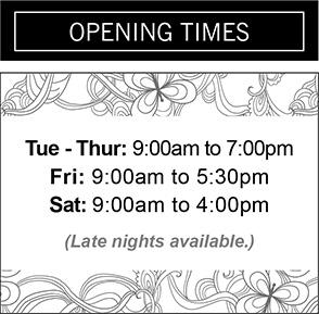 Sidebar-Opening-Times